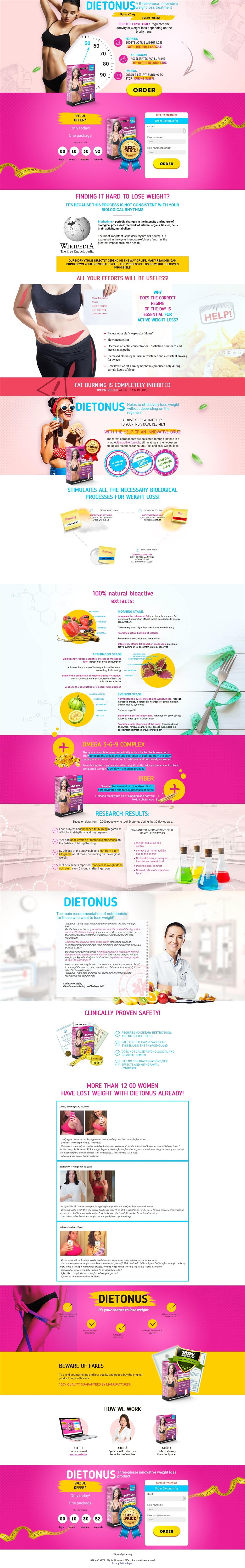 dietonus en farmacias